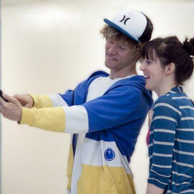 Drew & Ashley use social media to bully their classmate.