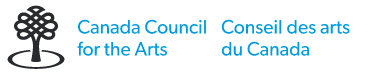 The logo for the Canada Council for the Arts.