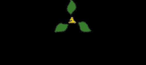 The logo for the Ontario Trillium Foundation, Foundation Trillium de L'Ontario.