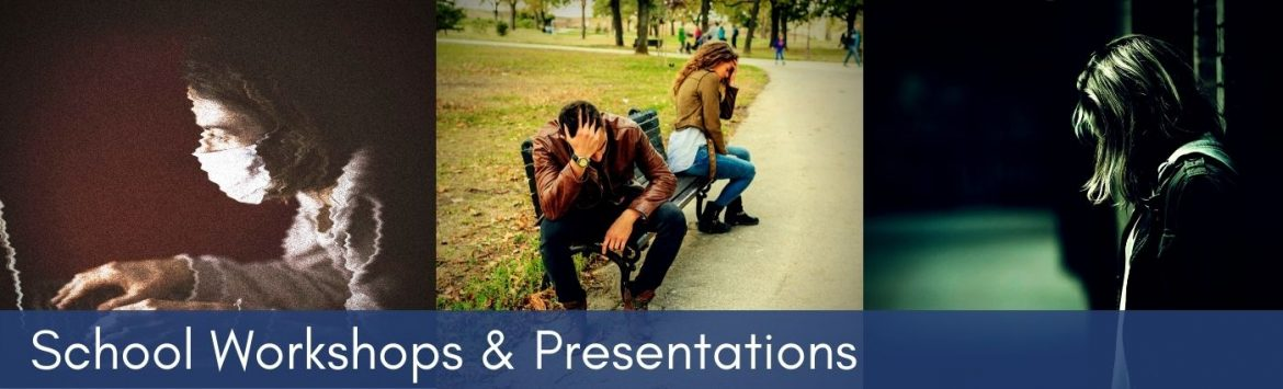 A promotional slide for MCT's school workshops and presentations.