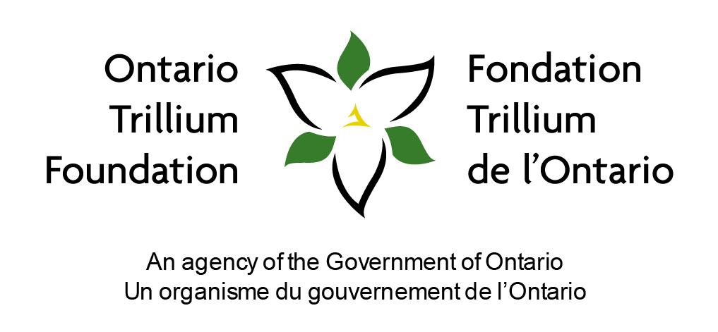 The logo for the Ontario Trillium Foundation/Fondation Trillium de l'Ontario.